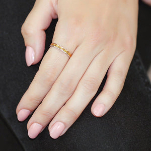 Dainty Trio Stack Rings - My Beautiful Daughters
