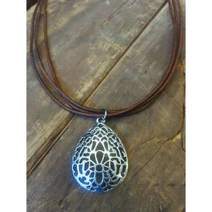 Filagree Teardrop Necklace by Payton Jewelry Design - My Beautiful Daughters