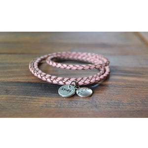 Pink Skinny Wrap Bracelet from Payton Jewelry Design - My Beautiful Daughters