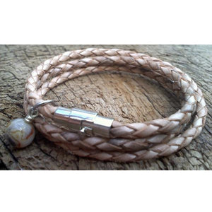 Natural Skinny Wrap Bracelet from Payton Jewelry Design - My Beautiful Daughters