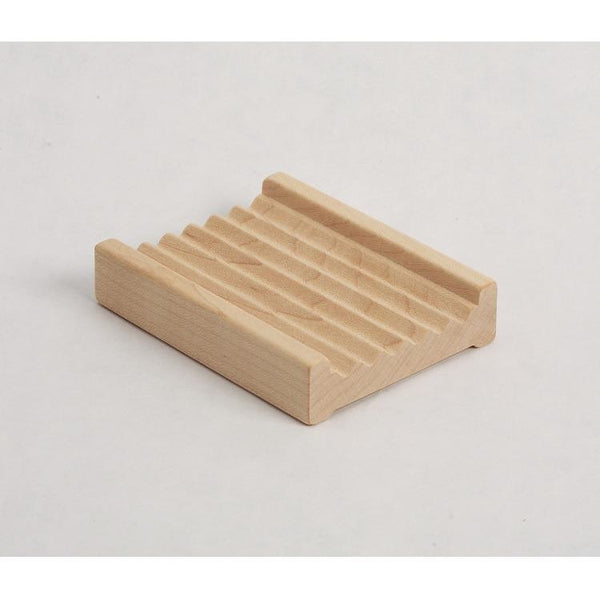 Hardwood Ridged Soap Dish From Vermont Soapworks My