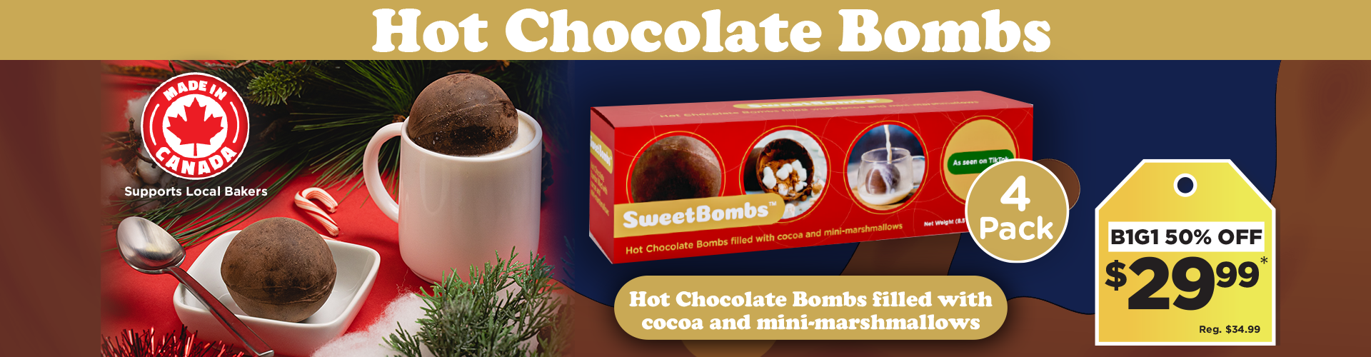 Hot Chocolate Bombs
