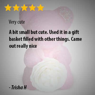 Ever-After Rose Petal Bear
