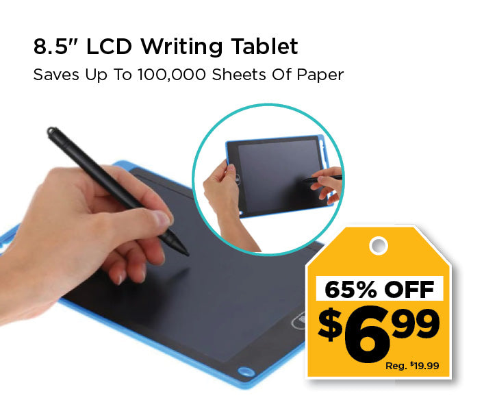 writing tablet on sale