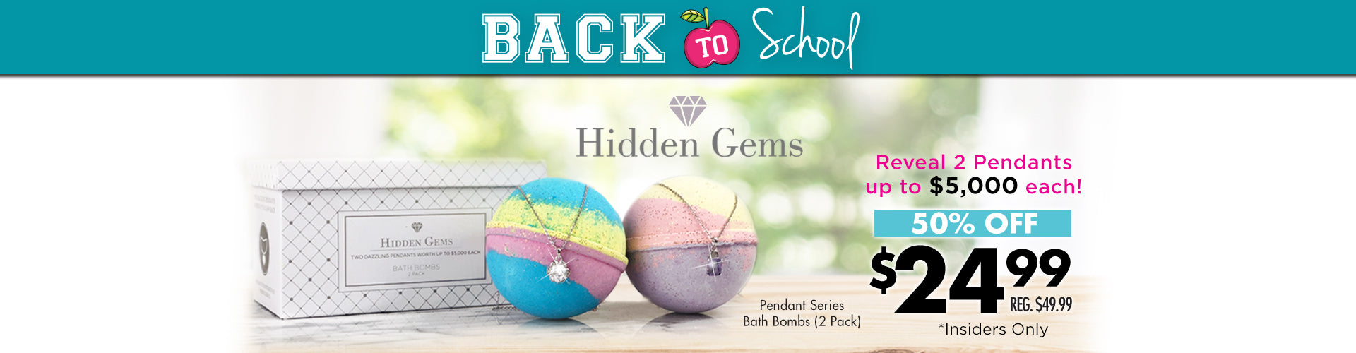Hidden Gems Bath Bombs
