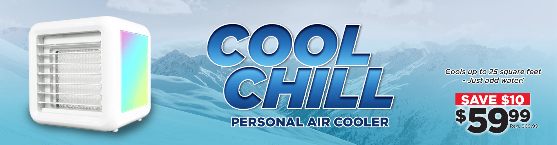 Stay Cool This Summer With the Cool Chill Personal Air Conditioner