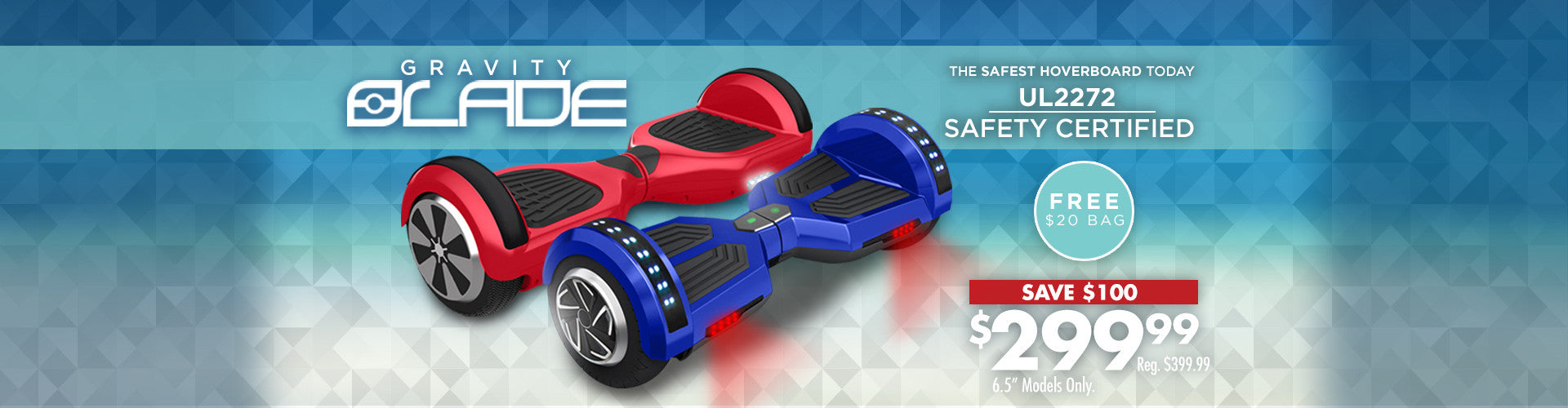 Gravity Blade Hoverboard
