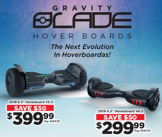 Save on new Gravity Hoverboards!