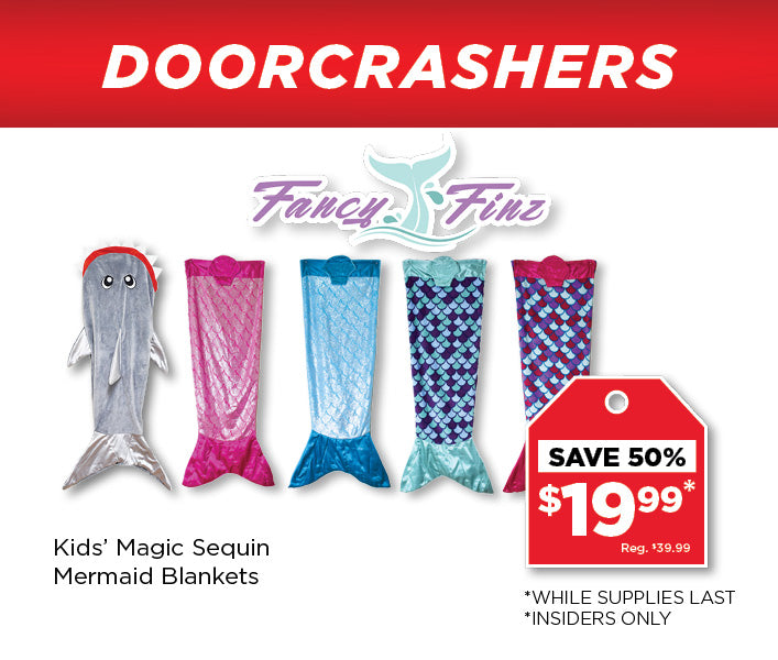 Fancy Finz Mermaid Blankets