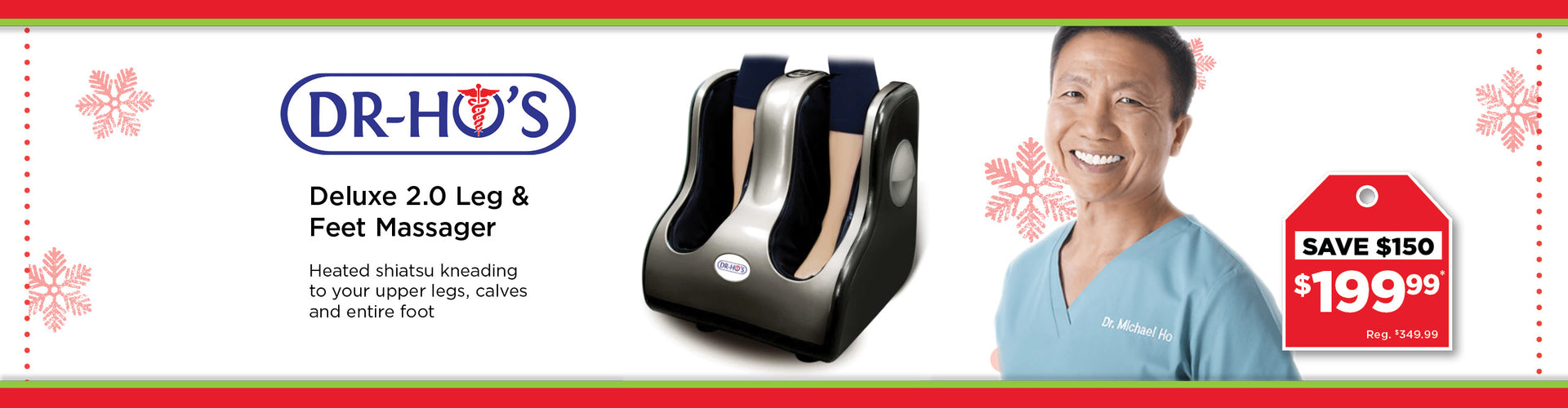 Dr Ho Leg And Foot Massager