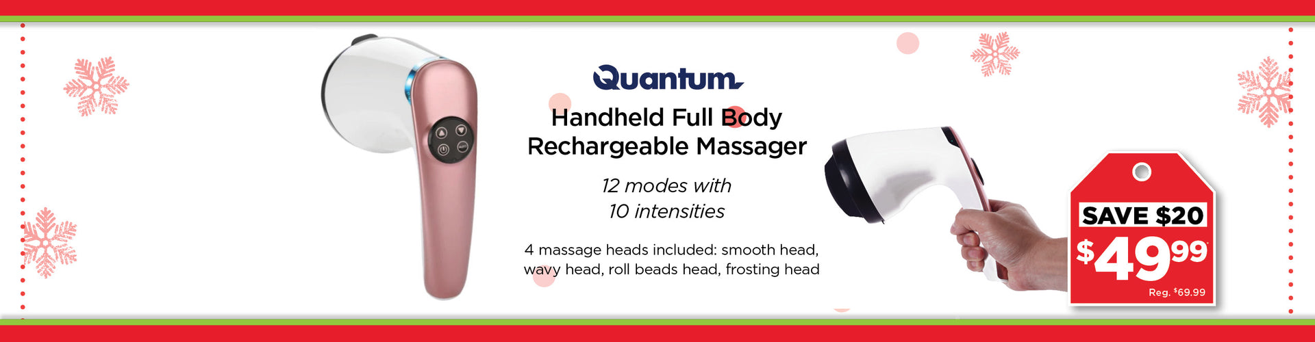Quantum Handheld Massager