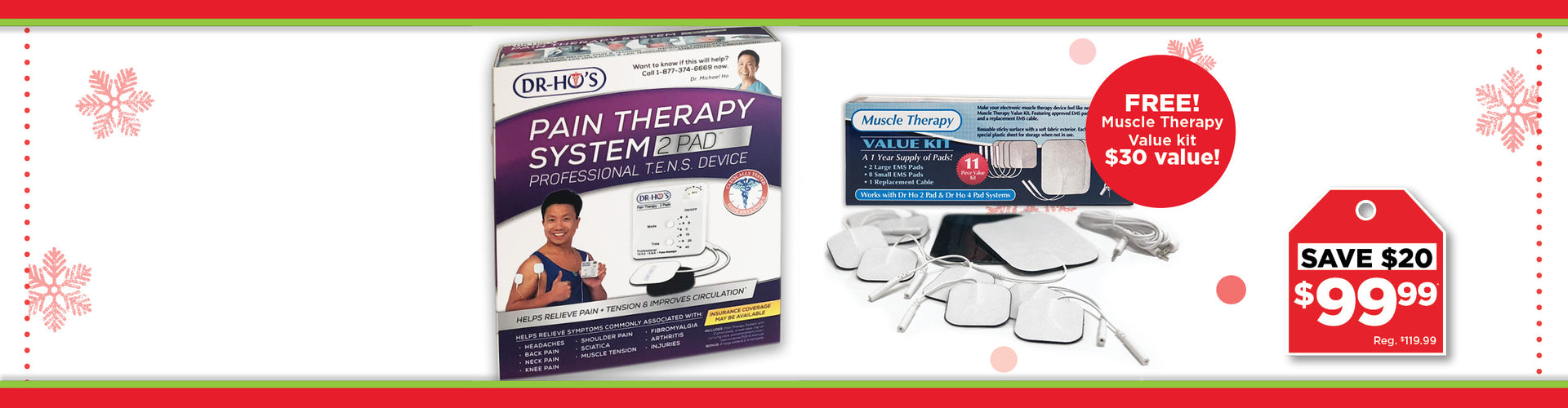 Dr. Ho Pain Therapy Kit