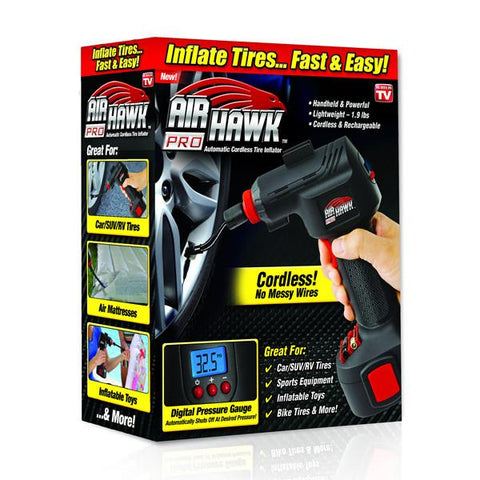 Air Hawk Pro Automatic Cordless Tire Inflator