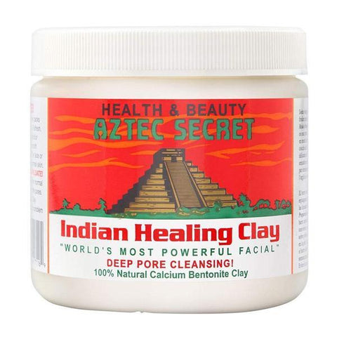 Aztec Secret Indian Healing Clay (1 LB) | Deep Pore Cleansing Facial & Body Mask