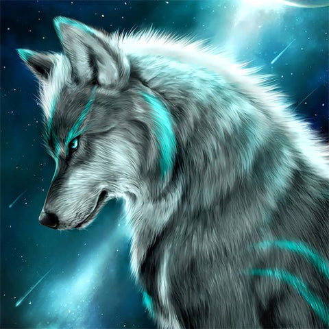 Studio Diamond Paintings | Blue Wolf | Buy One, Get One 50% OFF!