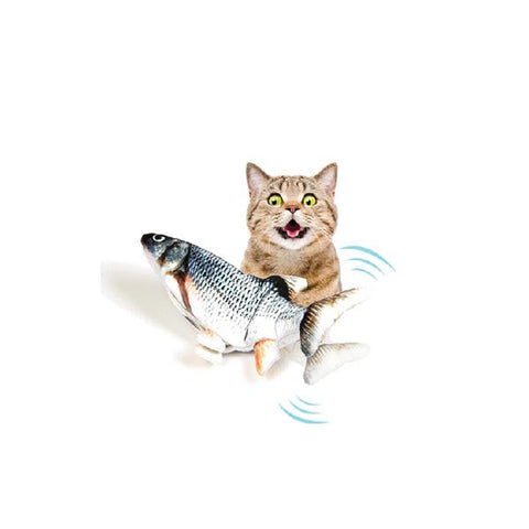 Cat-ty | USB Rechargeable Wagging Fish Toy | 11.8