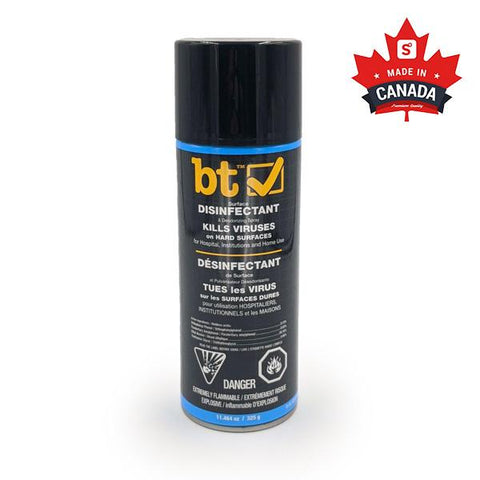 BT Surface Disinfectant & Deodorizing Spray (325g) | Ships Within 24 Hours
