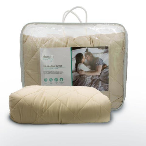 Weighted Blanket + Aromatherapy System | 2 Person | Milk Silk | Oatmeal