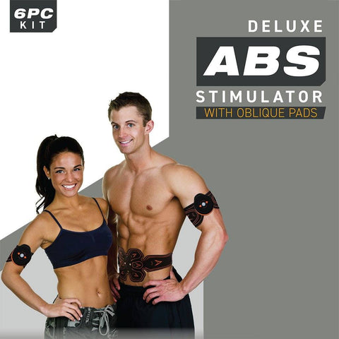PulseFX Abs Stimulator With Oblique Pads