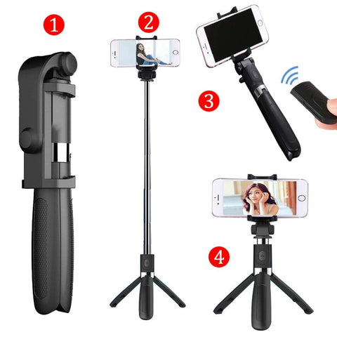 Trio Selfie Stick | Zoom | Skype | Videos