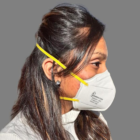 Shining Star N95 Face Mask: NIOSH #84A-8125 | Ships within 24 hours