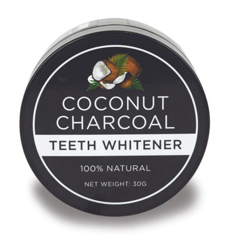 Natural Coconut Activated Charcoal Teeth Whitener