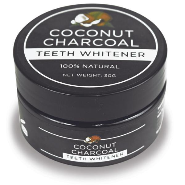 natural coconut activated charcoal teeth whitener showcase. Black Bedroom Furniture Sets. Home Design Ideas