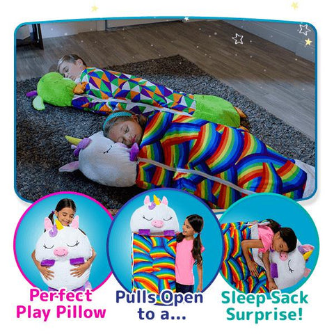 Happy Nappers | Play Pillow & Sleep Sack Surprise | Multiple Styles & Sizes | BOGO 25%