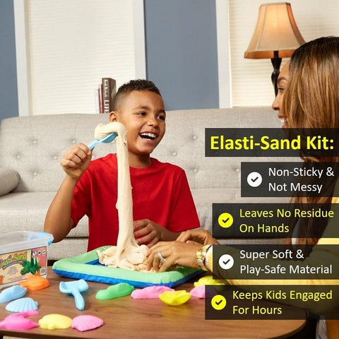 Elasti-Sand 1 kg Kit | Assorted Colors | Buy One, Get One 50% OFF
