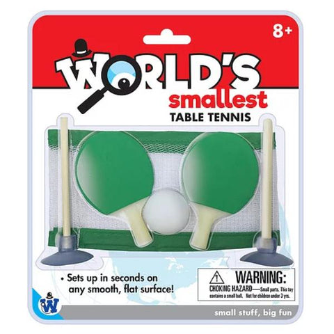 Westminster World's Smallest Table Tennis