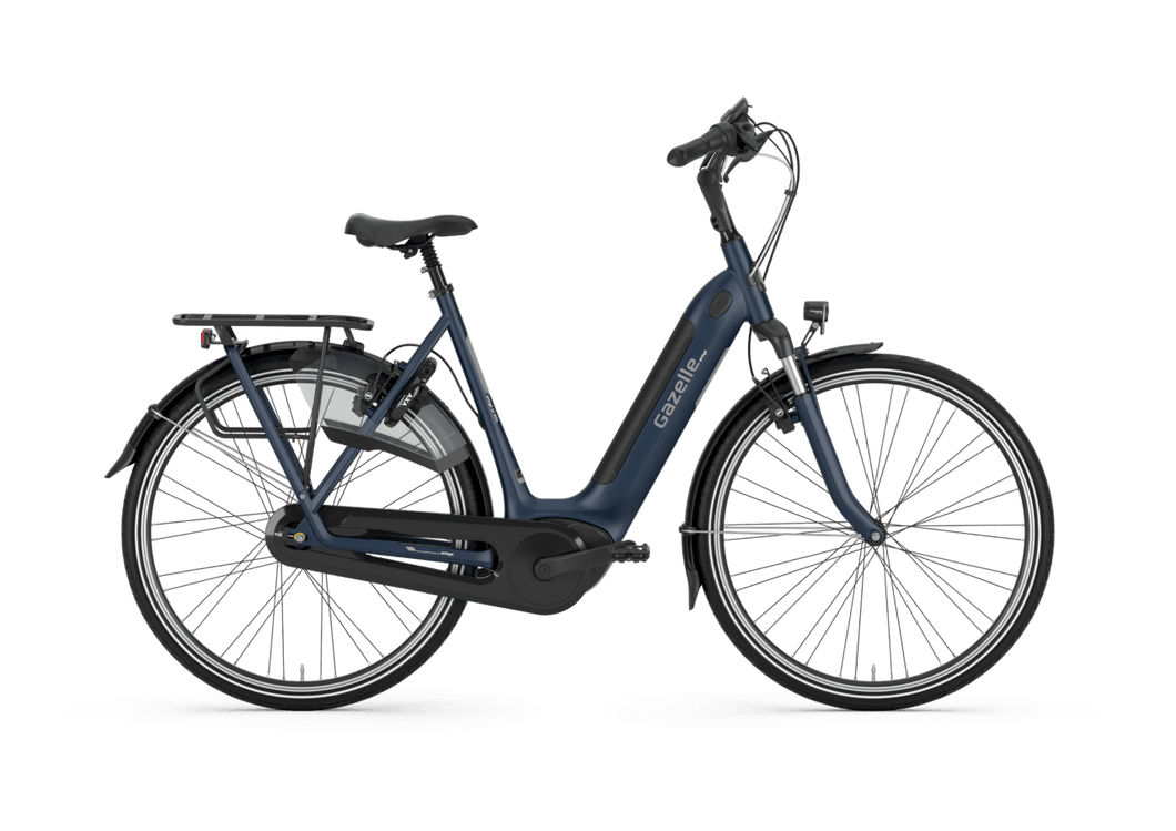 Gazelle Arroyo C7+ HMB Elite Navy Blue Mat 2021 Dame 500Wh Gazelle