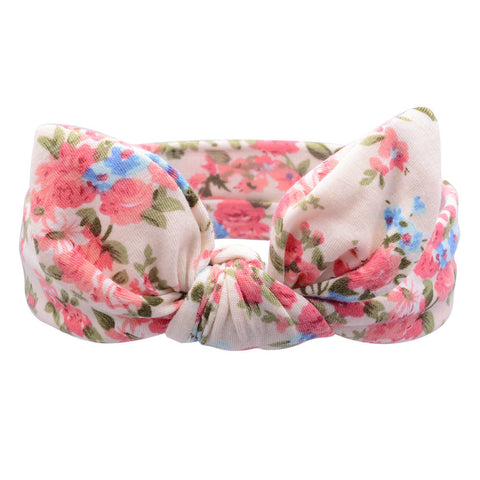 Cotton Floral Baby Headbands
