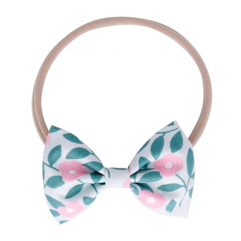 Ribbon Bow Elastic Headband