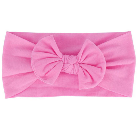 Bright Pink Nylon Headband