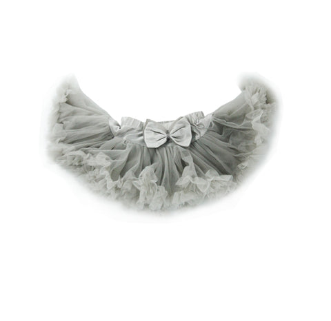 Dusty Grey Tulle Skirt