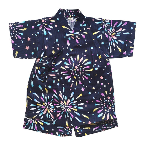 Okiddo Rainbow Firework Boy Suit (Blue)