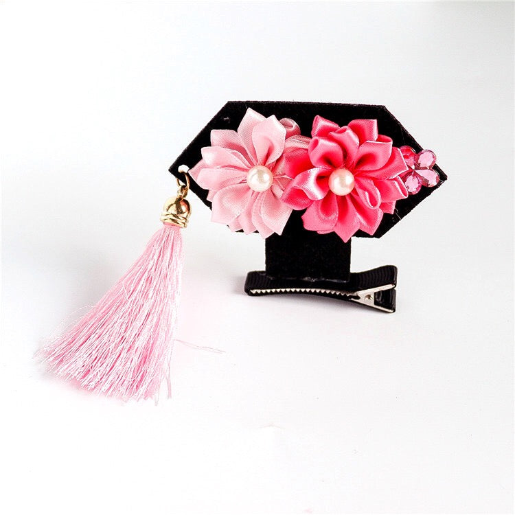 Chinese Princess Hair Clip - LIGHT PINK