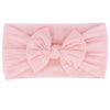 Peach Pink Nylon Headband