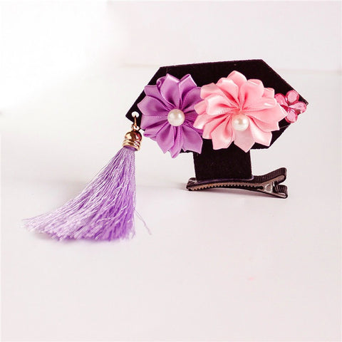 Chinese Princess Hair Clip - PURPLE