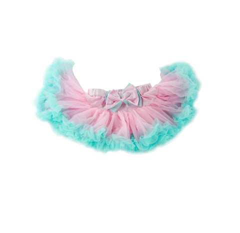 Pastel Cotton Candy Tulle Skirt