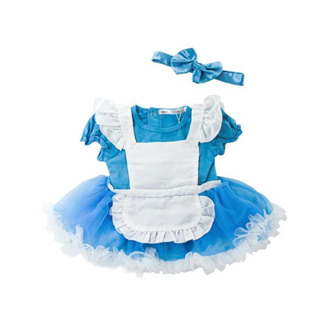 Alice in Wonderland Fluffy Romper