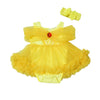 Baby Princess Belle Fluffy Romper
