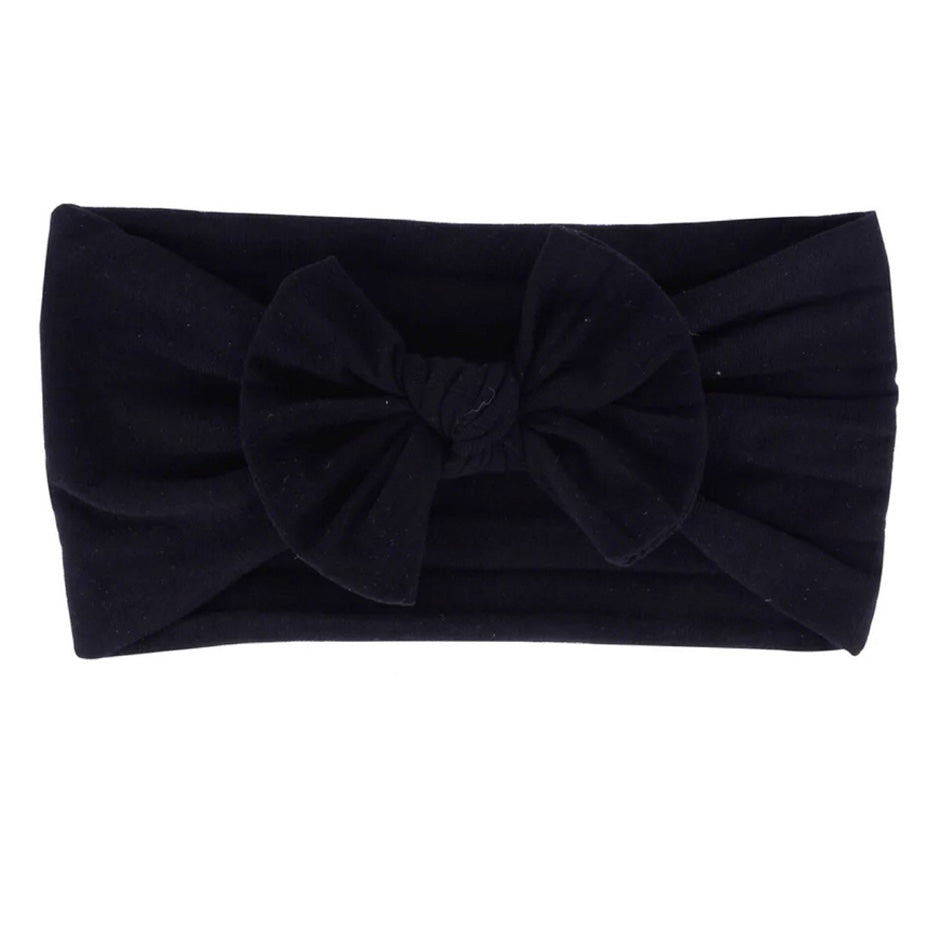 Black Nylon Headband