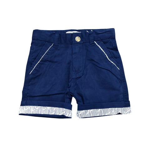 Asher Navy Blue Bermudas