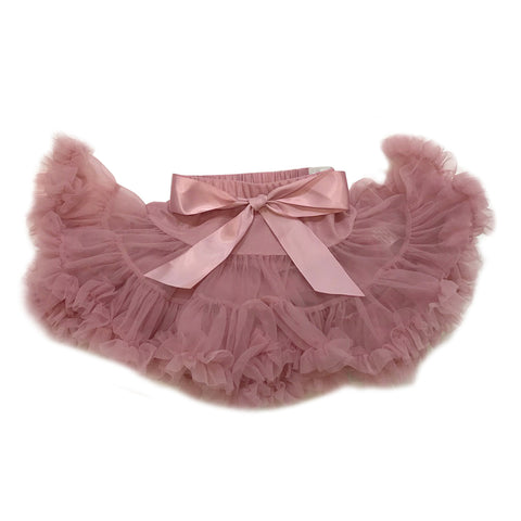 Dull Pink Tulle Skirt