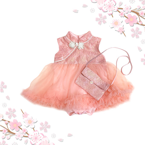 Dusty Pink Cheongsam
