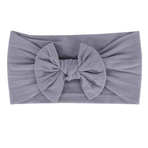 Grey Nylon Headband