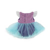 Princess Mermaid Fluffy Romper Set