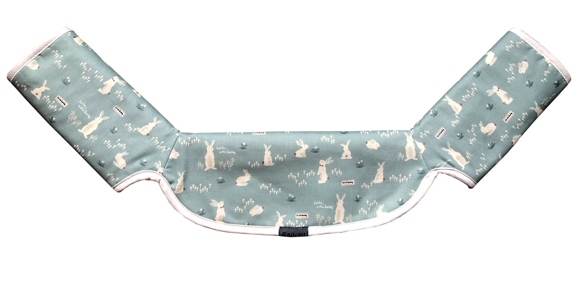 One-Piece Drool Pad (RABBIT MINT)