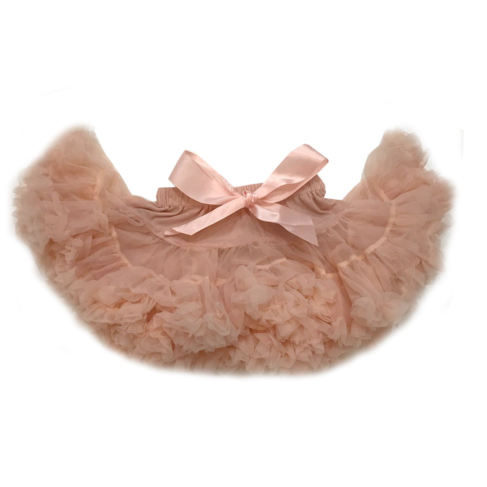 Light Peach Tulle Skirt